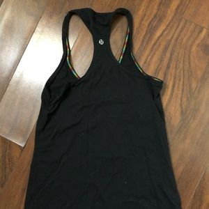 lululemon razor back tank top